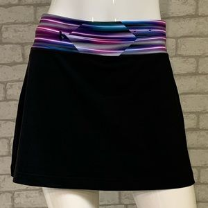 "Fila black ""Live In Motion""  tennis skort - L"